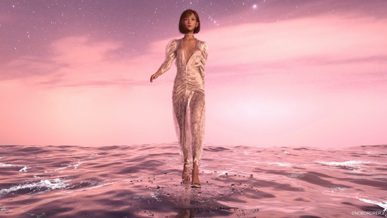 The Most Popular Virtual Human makes its AR appearance at Milan Fashion Week! Announces its NFT Release!